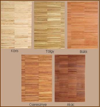 ipari parketa színei