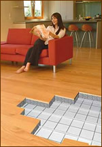parketta padlófűtésre