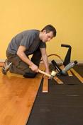 laminált padló lerakása házilag