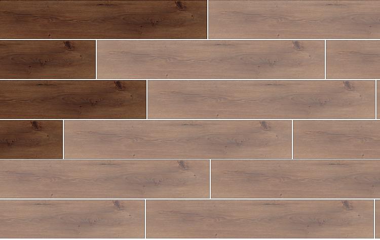 laminált padló lerakása útmutató 7. - helyes kötés