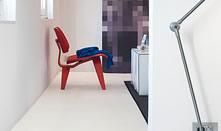 fehér laminált padló