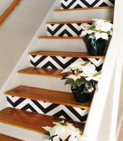lépcső festése